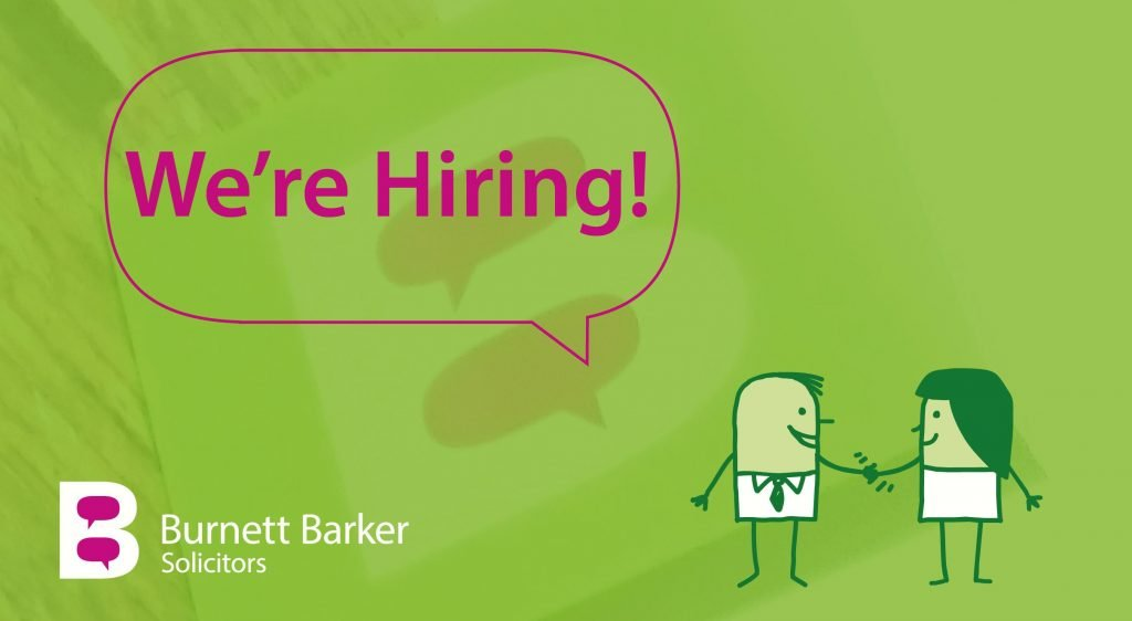 We're recruiting a conveyancing junior