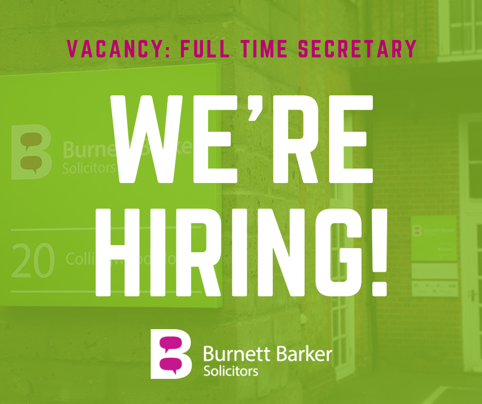 Full Time Secretary. Bury St Edmunds, Law Firm