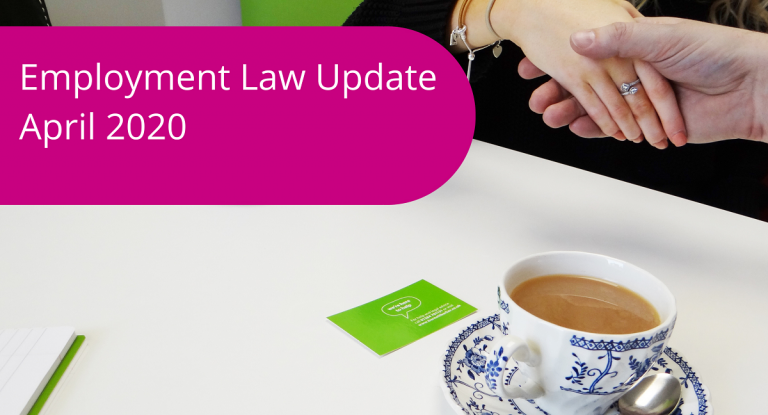 Employment Law Update April 2020 Burnett Barker Solicitors